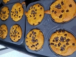 Pumpkin Chocolate Chip Muffins (4 pack)