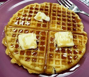 Belgian Style Buttermilk Waffles (  3 Pk). In Store Purchase