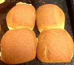 Hamburger Bun / Roll( 4 pack)