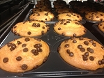 Chocolate Chip Muffins ( 4 Pack)