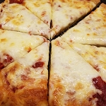 Thick Crust Pizza Gluten Free. In Store Purchase