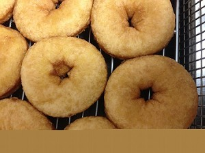 Gluten Free, Dairy Free Plain Donuts